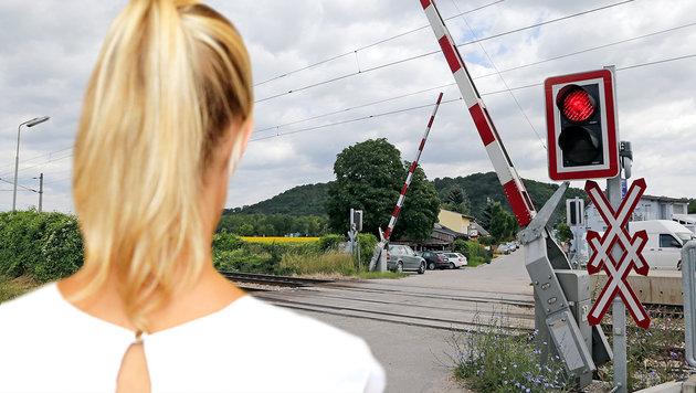 """Eine jener Lehrerinnen (28), die an der """"Gleis-Affäre"""" im Sommer 2016 beteiligt waren. (Bild: Klemens Groh)"""