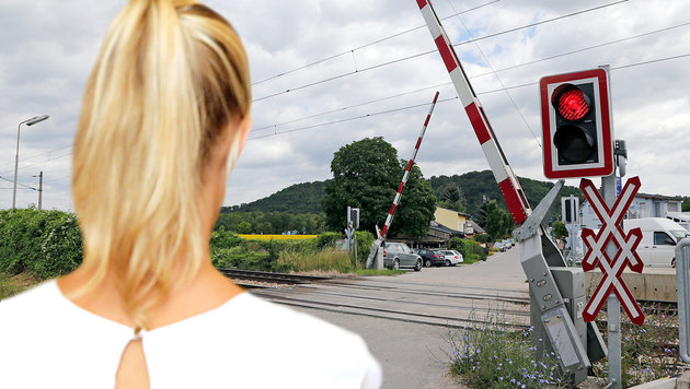"""Eine jener Lehrerinnen, die an der """"Gleis-Affäre"""" im Sommer 2016 beteiligt waren (Bild: Klemens Groh)"""