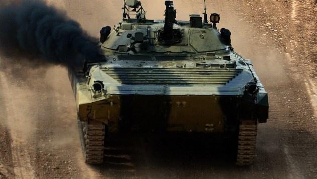"""In Russland findet """"Olympia der Panzer"""" statt (Bild: AFP)"""