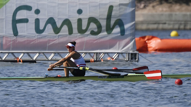 Magdalena Lobnig souver�n im Halbfinale (Bild: AFP)
