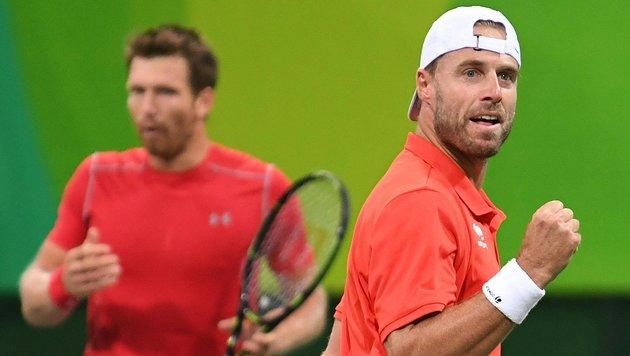 Marach/Peya im Rio-Viertelfinale! Nun wartet Nadal (Bild: APA/HELMUT FOHRINGER)