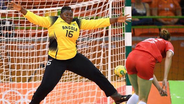 """Sie ist das """"Pummelchen"""" der Olympischen Spiele (Bild: APA/AFP/afp/ERIC FEFERBERG)"""