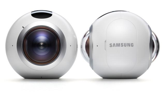 """""""Samsung Gear 360"""": Rundum-Kamera im Test (Bild: Samsung)"""