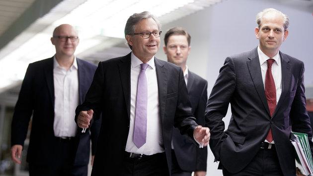 Wrabetz! Neuer alter Chef für den ORF (Bild: APA/GEORG HOCHMUTH)