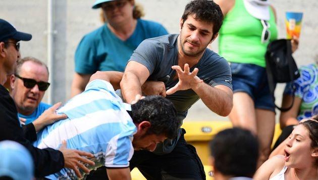 Brasilien vs. Argentinien: Feindschaft eskaliert (Bild: APA/AFP/MARTIN BERNETTI)