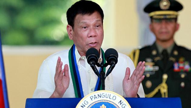 """Duterte nennt US-Botschafter """"schwulen Hurensohn"""" (Bild: AP)"""