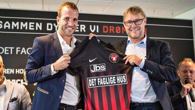 Rafael van an der Vaart wechselt zu Midtjylland (Bild: APA/AFP/Scanpix Denmark/HENNING BAGGER)
