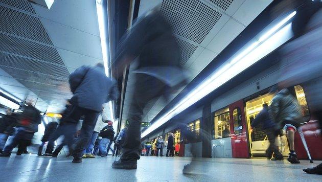 Die Wiener U-Bahnstation Westbahnhof (Bild: Wiener Linien)