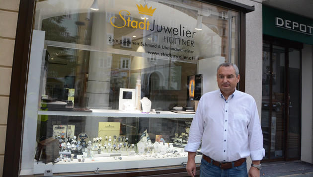Juwelier Heinrich Hüttner (Bild: ZOOM.TIROL)