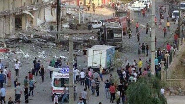 T�rkei: Tote und Verletzte bei Bombenanschl�gen (Bild: Twitter.com)
