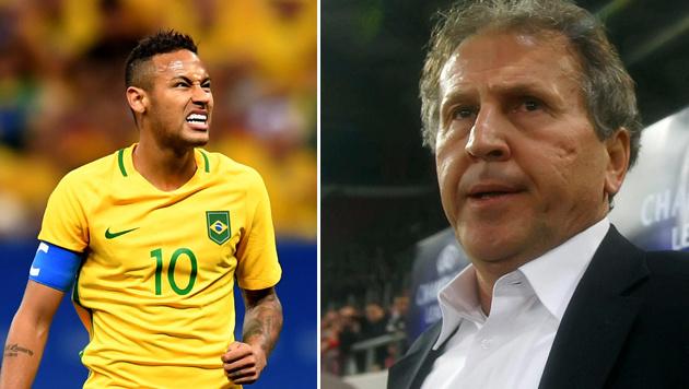 "Zico über Neymar: ""Ihm fehlt Reife für Kapitänamt"" (Bild: GEPA, AFP)"