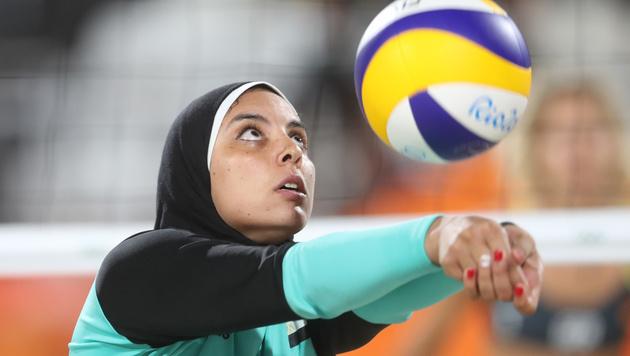Rar, kühn, gut: Muslimische Frauen bei Olympia (Bild: AP)