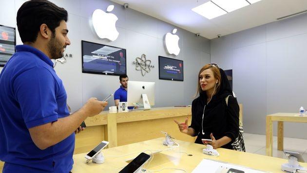 Illegale iPhones: Goldgrube im Land der Mullahs (Bild: AFP)