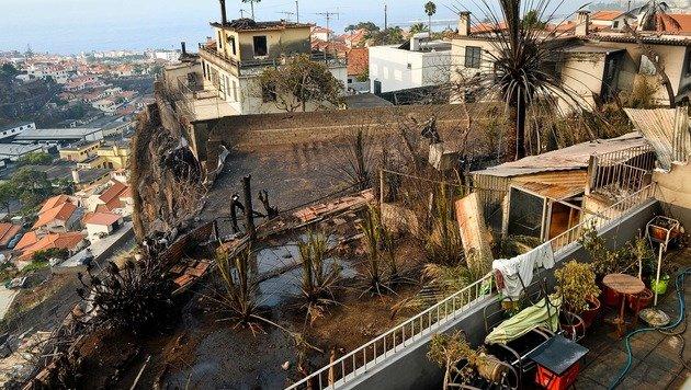 Dutzende Waldbrände wüten im Süden Europas (Bild: AFP)