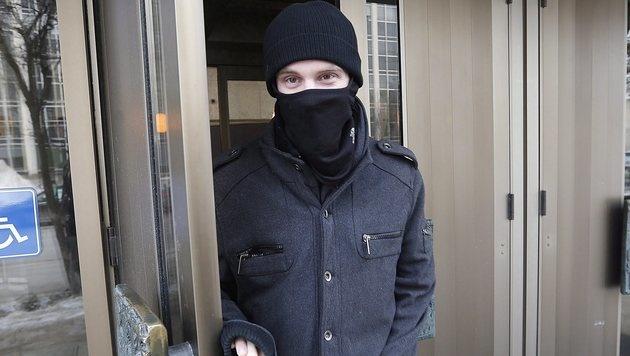 Aaron Driver stand bereits im Februar 2016 wegen Terrorverdachts vor Gericht. (Bild: AP)