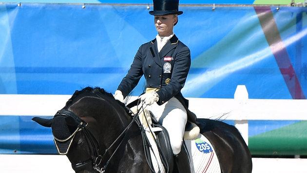 Max-Theurer & Della beenden Grand Prix mit 71,129 (Bild: APA/HANS KLAUS TECHT)
