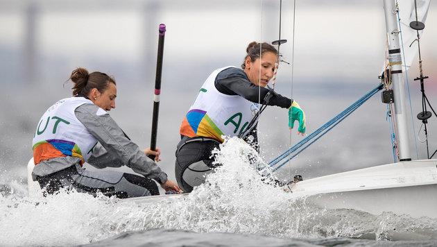 Lara Vadlau und Jolanta Ogar (Bild: APA/EXPA/JOHANN GRODER)