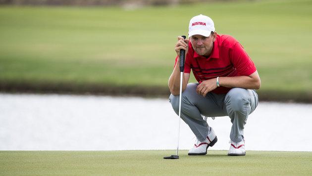 Wiesberger verpatzt bei Golf-Rückkehr finale Putts (Bild: APA/EXPA/JOHANN GRODER)