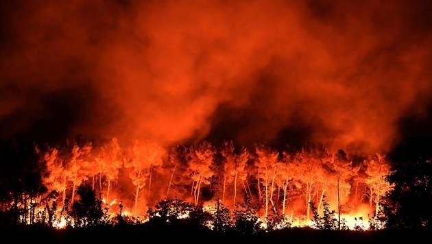 Dutzende Waldbrände wüten im Süden Europas (Bild: AFP or licensors)