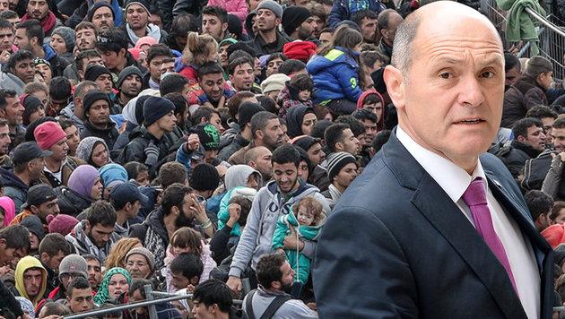 45.000 Fälle aufgedeckt: Asylbetrug im großen Stil (Bild: EXPA/Pixsell/Sasa Despot, APA/Roland Schlager)