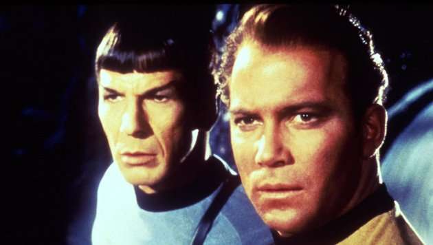 "Spock und Captain Kirk in ""Raumschiff Enterprise"" (Bild: Viennareport)"
