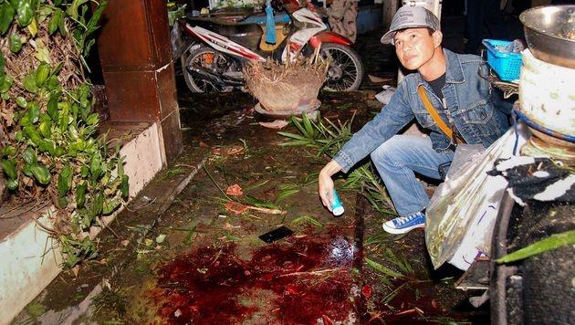 Bombenterror in Thailand - Österreicherin verletzt (Bild: APA/AFP/dailynews/DAILYNEWS)