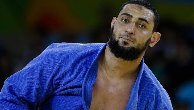 Judo-Eklat! Ägypter verweigert Israeli Handschlag (Bild: Associated Press)