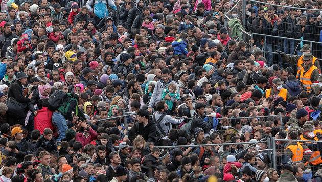 Umfrage belegt: Große Vorbehalte gegen Zuwanderer (Bild: EXPA/ Pixsell/ Sasa Despot/Zurnal24l)
