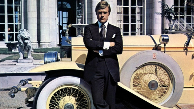 "Robert Redford in ""The Great Gatsby"" (Bild: face to face)"