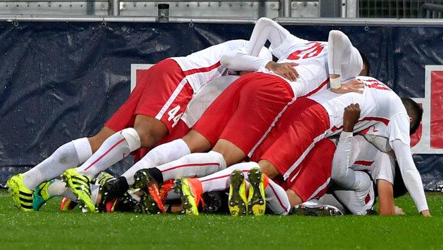 FC Liefering holt im 4. Spiel den 4. Sieg! (Bild: GEPA)