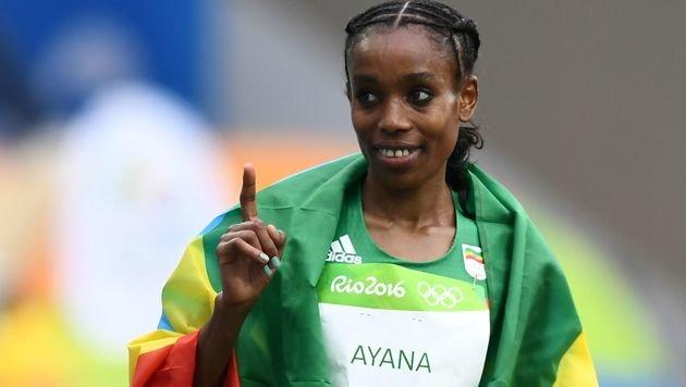Fabel-Weltrekord durch Ayana im 10.000-m-Lauf (Bild: AFP)