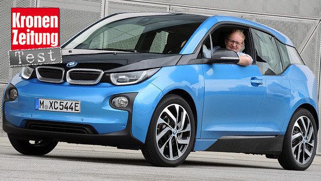 Mächtige Akkus für BMW i3 - und richtig Reichweite (Bild: Stephan Schätzl)