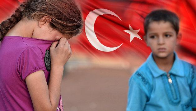 Türkei erlaubt Sex mit Kindern unter 15 Jahren (Bild: ARIS MESSINIS/AFP/picturedesk.com, thinkstockphotos.de)