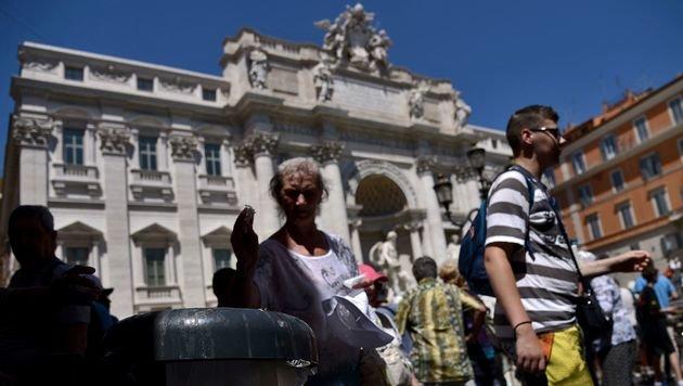 Rom will jetzt Müllberge bei uns loswerden (Bild: AFP)