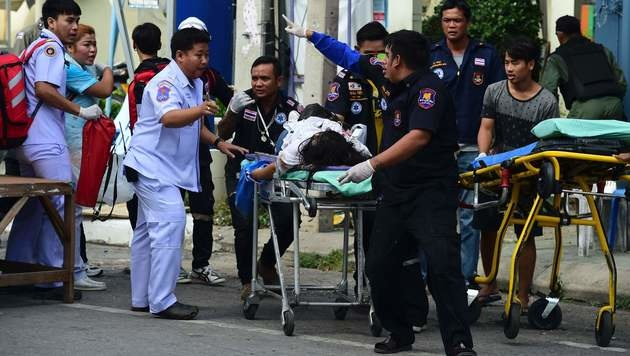 Bombenterror in Thailand - Österreicherin verletzt (Bild: AFP)