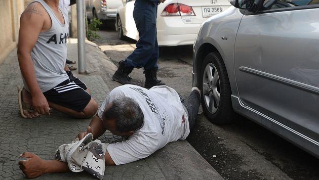 Bombenterror in Thailand - Österreicherin verletzt (Bild: APA/AFP/APF/MUNIR UZ ZAMAN)