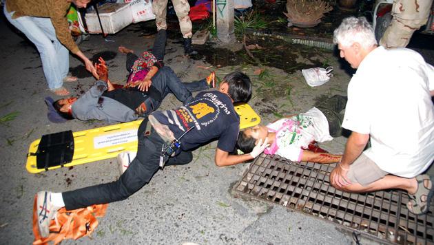 Bombenterror in Thailand - Österreicherin verletzt (Bild: AP)