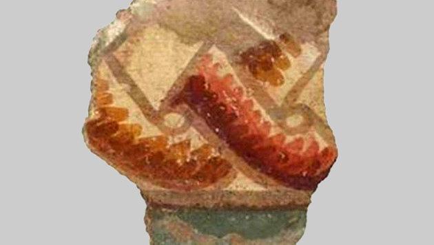 Fragmente antiker Fresken nahe Nazareth entdeckt (Bild: G. Lauron)