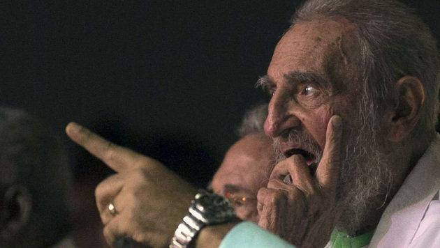 Kuba feiert 90. Geburtstag von Fidel Castro (Bild: Associated Press)