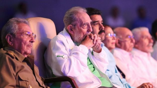 Kuba feiert 90. Geburtstag von Fidel Castro (Bild: APA/AFP/Prensa Miraflores/Marcelo Garcia)