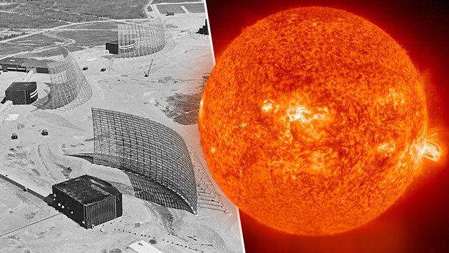 Mega-Sonnensturm löste 1967 beinahe Atomkrieg aus (Bild: USAF, NASA/SDO)