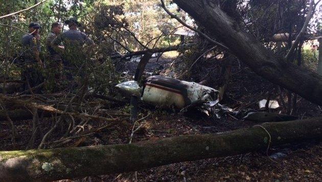 Sechs Tote bei Flugzeugabsturz in Virginia (Bild: Virginia State Police)