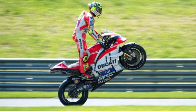 """""""Wahnsinniger"""" Iannone siegt und erlöst Ducati! (Bild: AFP)"""