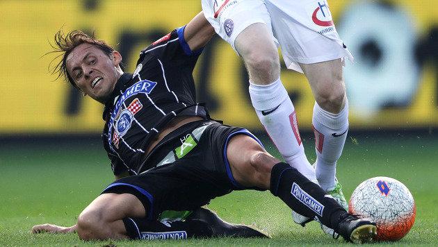 Ex-Rapidler schießen Sturm zu 3:1 gegen Austria (Bild: GEPA)