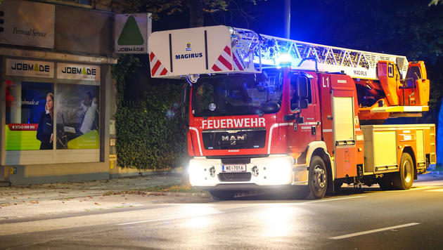 Brandanschlag auf t�rkisches Lokal: 2 Festnahmen (Bild: Matthias Lauber/laumat.at)