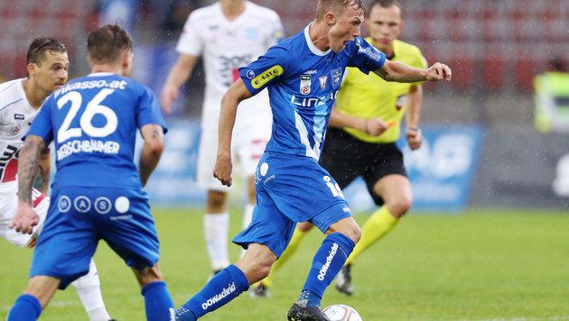 Der erste Punkt für Aufsteiger Blau-Weiß Linz! (Bild: GEPA pictures)