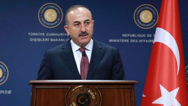 """Erdogans Außenminister: EU ist """"Türkei-feindlich"""" (Bild: AFP)"""