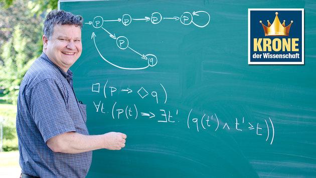 Prof. Thomas Henzinger, Leiter des Institute of Science and Technology Austria (Bild: Kronen Zeitung)