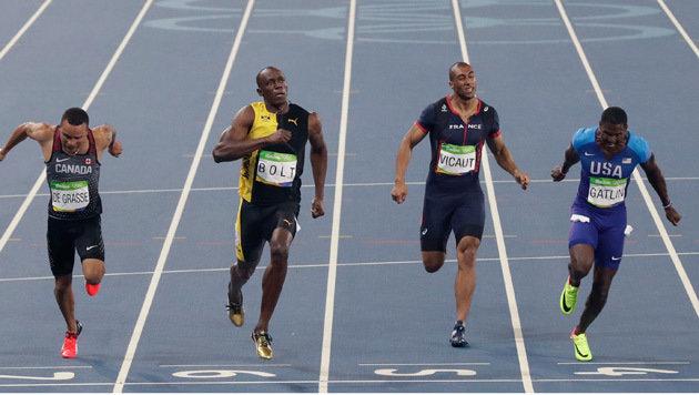 Schon wieder Gold! Bolt zu gut für diese Welt (Bild: AP)