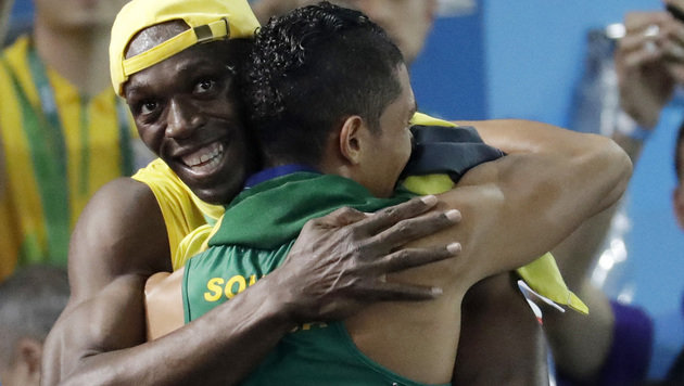 Van Niekerk überragend! Gold mit Weltrekord (Bild: Associated Press)